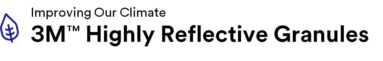 Highly Reflective Granule Logo Blue