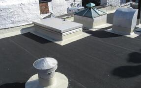 fluid applied membrane on roof penetrations